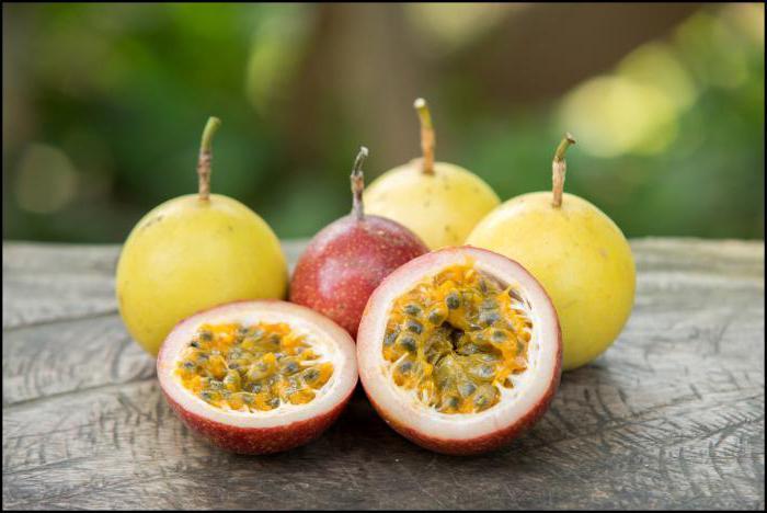 маракуйя фрукт страсти