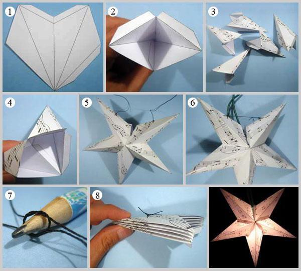 бумажные фонарики подвесные