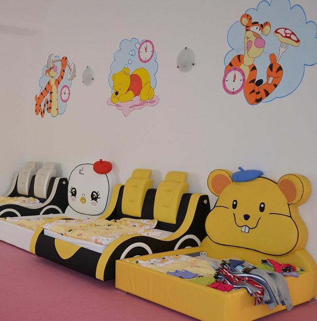 украсить спальню в детском саду
