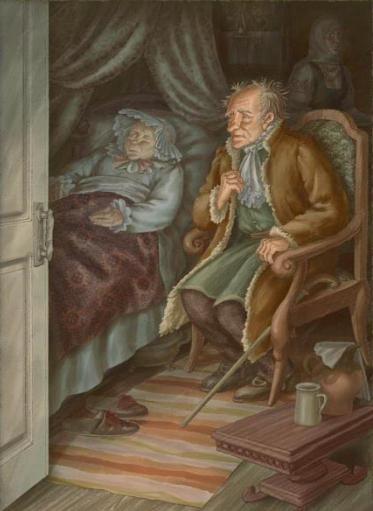 Картинки старосветские помещики гоголь