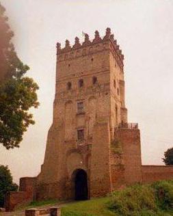 въездная башня Луцкого замка