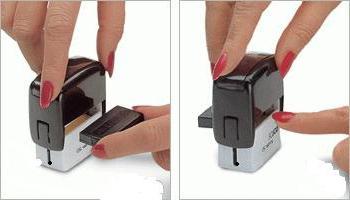 как заправить печать чернилами инструкция