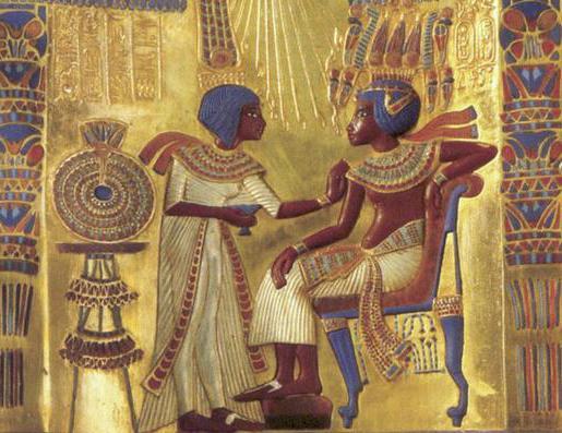 египет тутанхамон