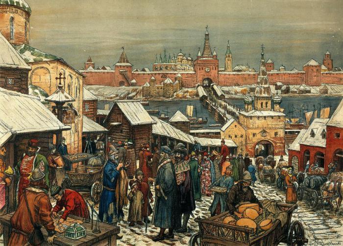 кормлением в московской руси называли
