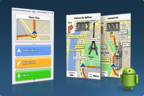 Навигационные карты для андроид