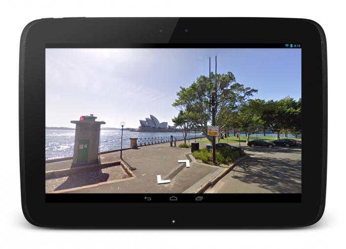 навигационные программы для андроид планшетов