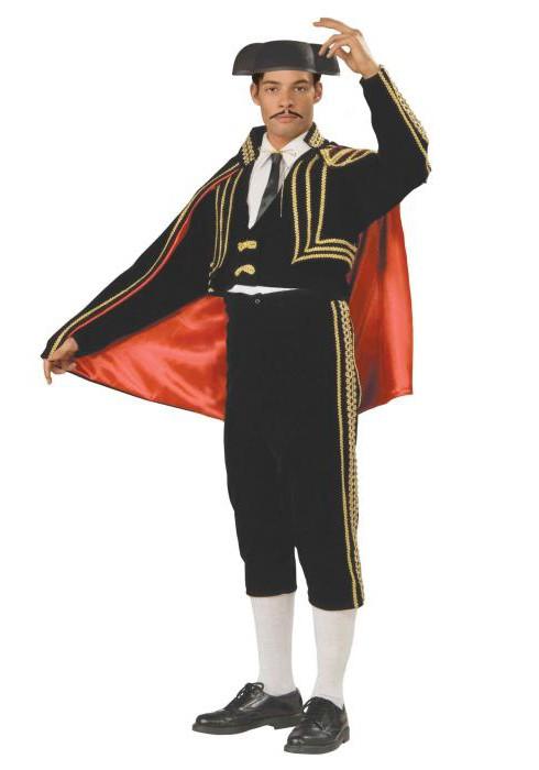 Испанский костюм: фото.