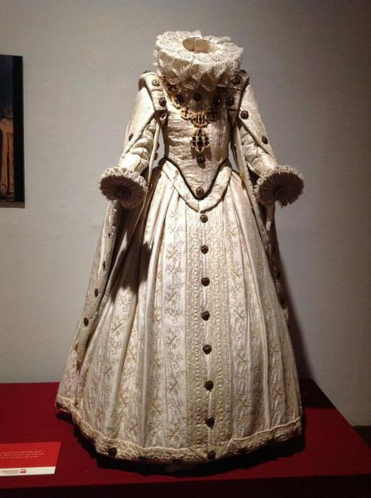 Испанский женский костюм.
