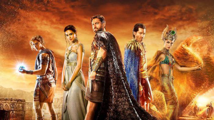 боги египта актеры и роли