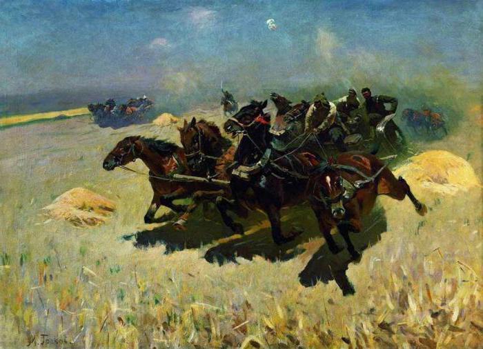 батальная живопись русских художников