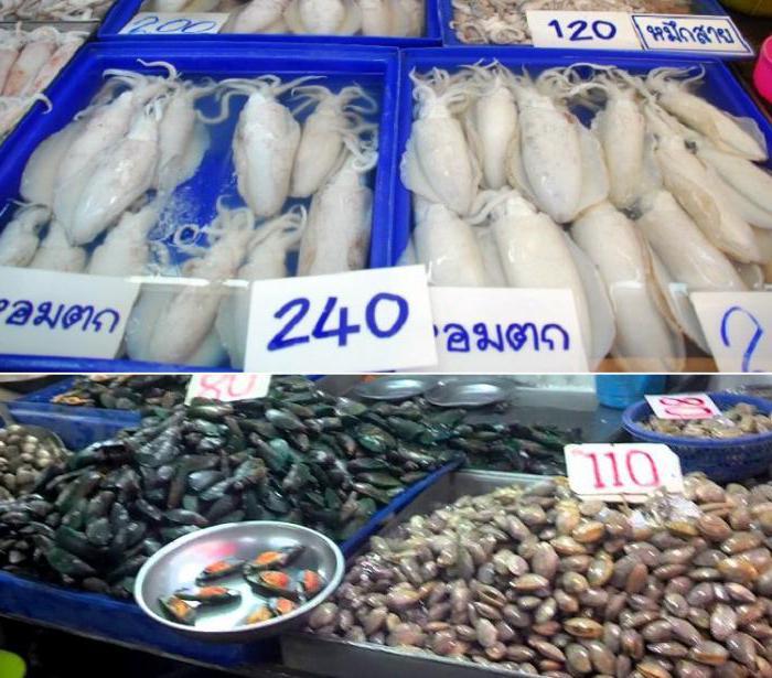 Где находится рыбный рынок в паттайе