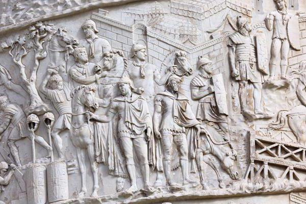 The differences between high relief and bas-relief and other forms of relief