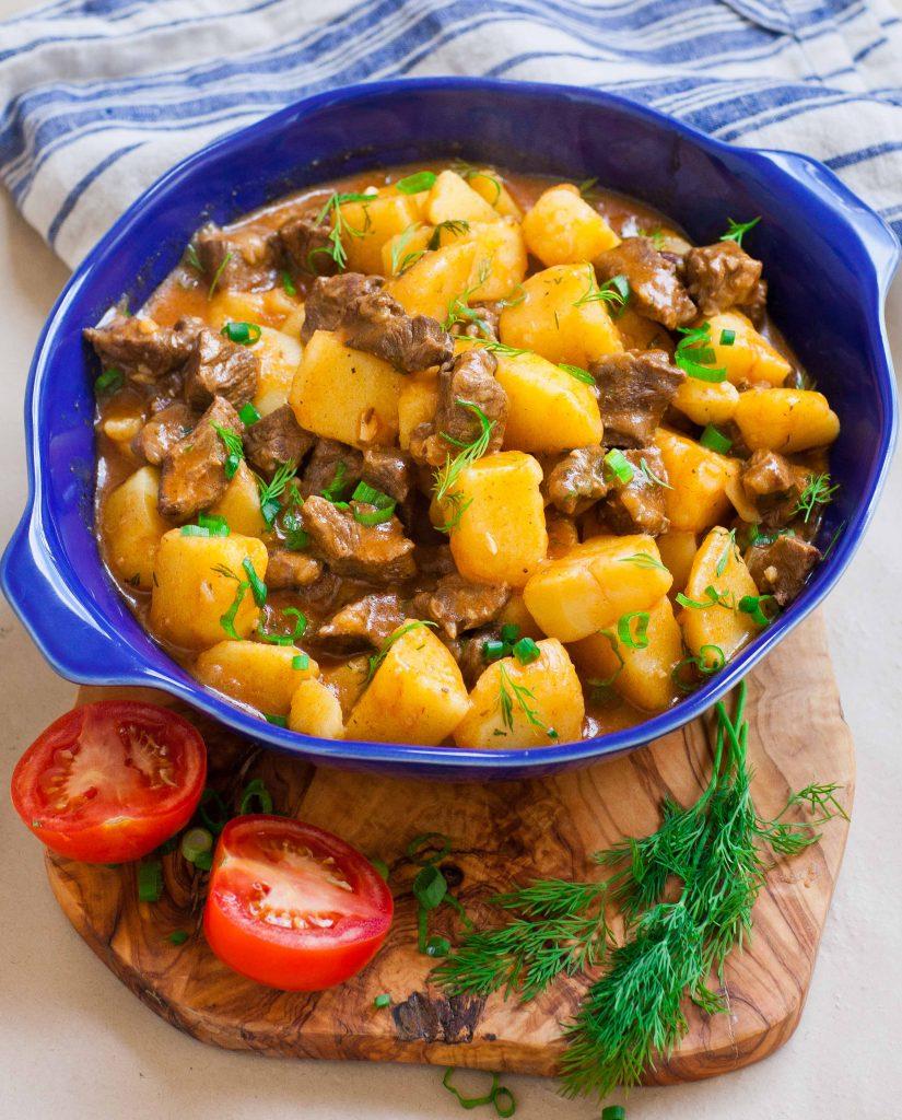 Картинки тушеная картошка с мясом