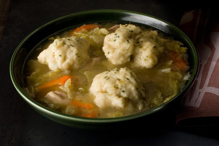 галушки для супа рецепт приготовления фото