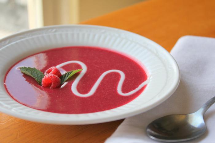 Сладкий суп рецепт