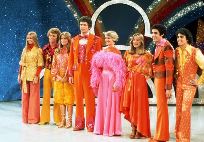 Мода 70-х: платья.