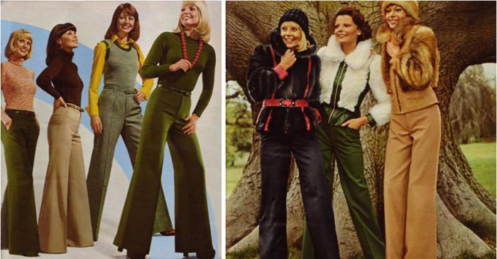 Мода СССР 70-х годов.