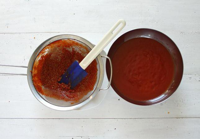 Рецепт кетчупа с крахмалом на зиму.