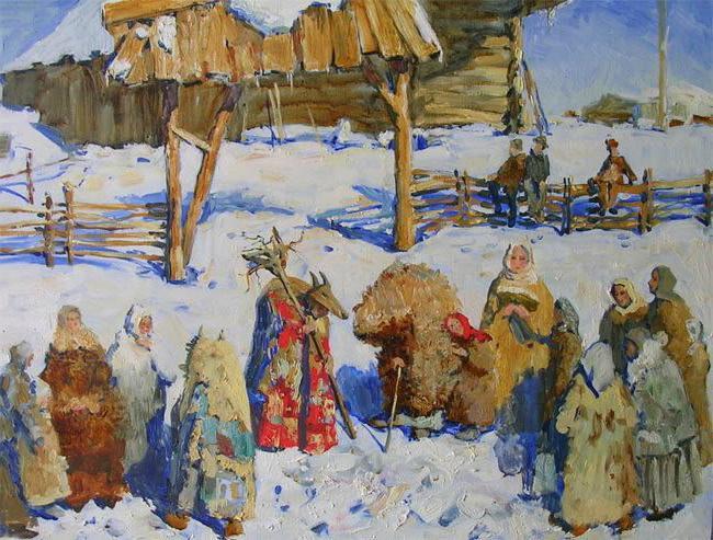 традиции нового года на руси