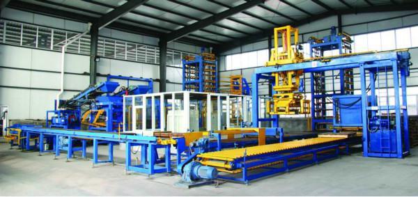 Заводское производство арболита