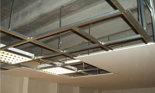 потолки из гипсокартона в зале как сделать