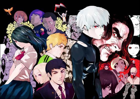 токийский гуль персонажи