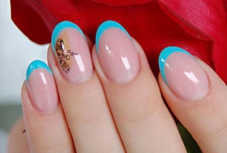 Идеи шеллака на короткие ногти