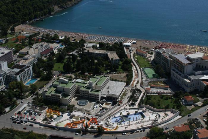 аквапарк в черногории
