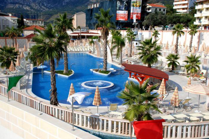 отель с аквапарком в черногории