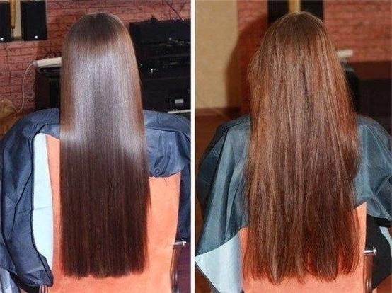 глицерин для волос фото до и после