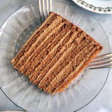 Как делать медовый торт в домашних условиях