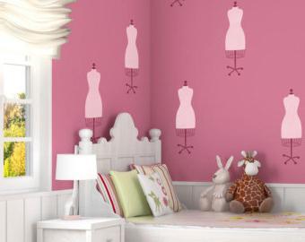 Трафареты для стен детские.