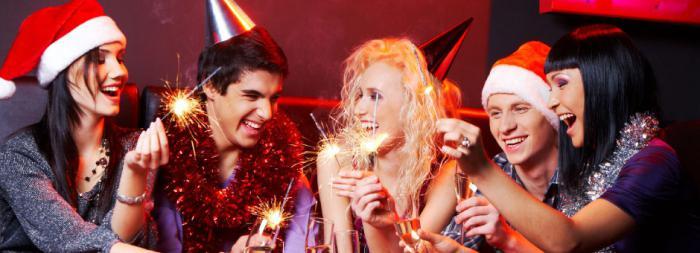 Как праздновать новогодние праздники :