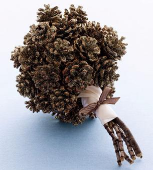 зимний букет своими руками полезная и красивая поделка