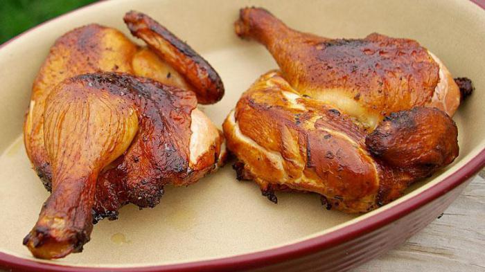 Курица горячего копчения рецепт рассол