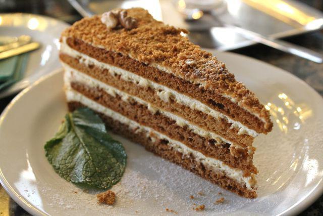 Рецепт медового торта самый простой