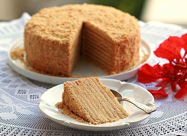 Медовый торт простой рецепт