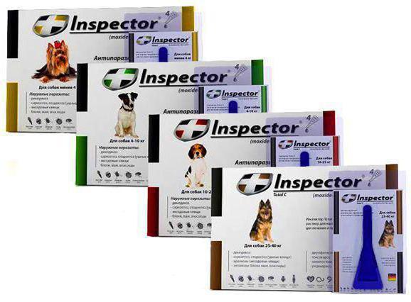 инспектор капли для собак инструкция