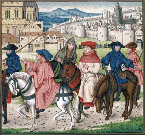 the presentation of the medieval christian church in the canterbury tales
