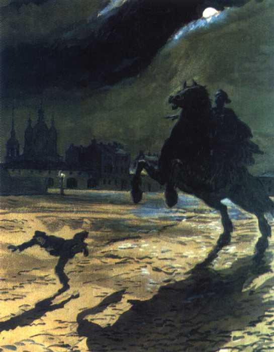 образ петербурга в изображении гоголя.