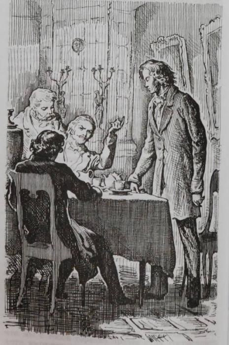 отцы и дети базаров одинцова как познакомились