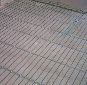 стяжка под теплый пол