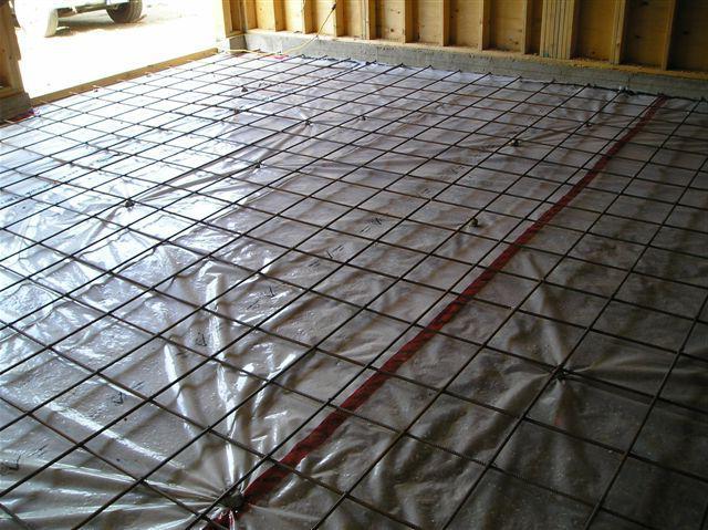 стяжка под теплый пол электрический