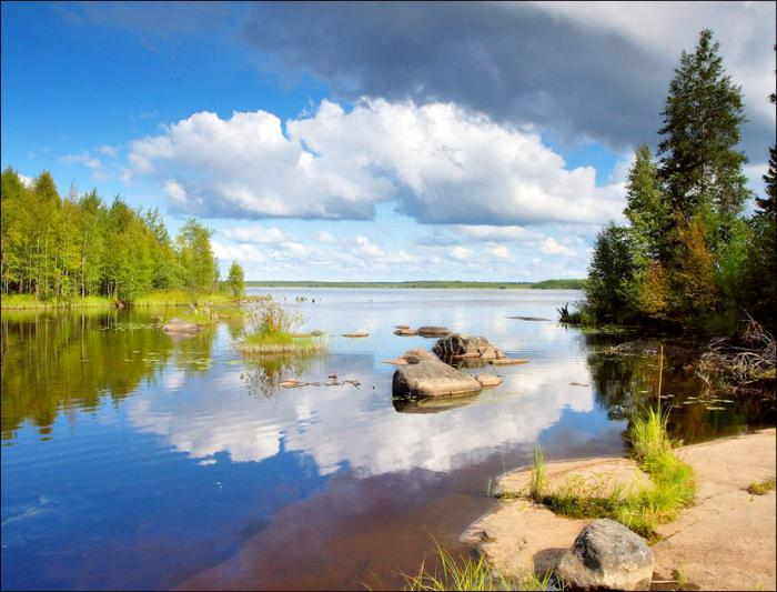 где находится озеро Псковское