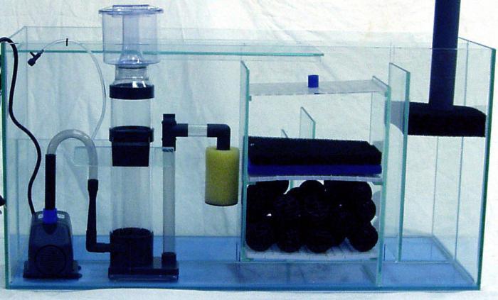 фильтр для аквариума своими