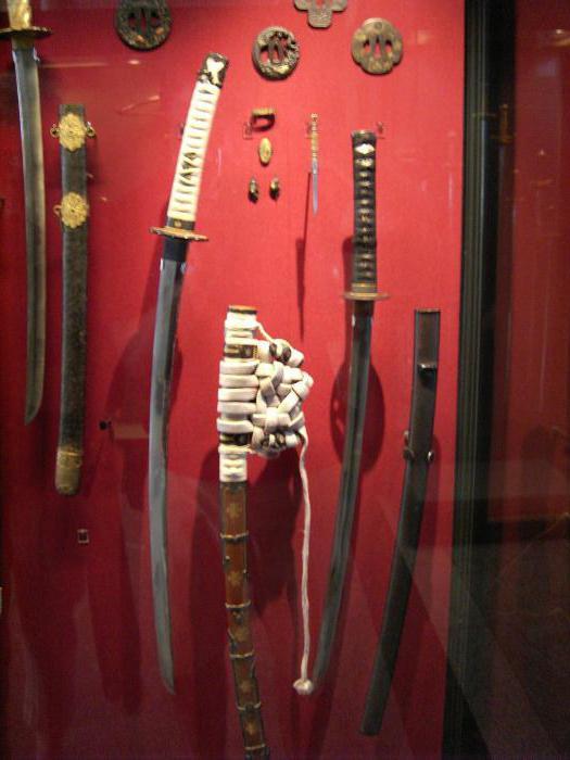 виды самурайских мечей