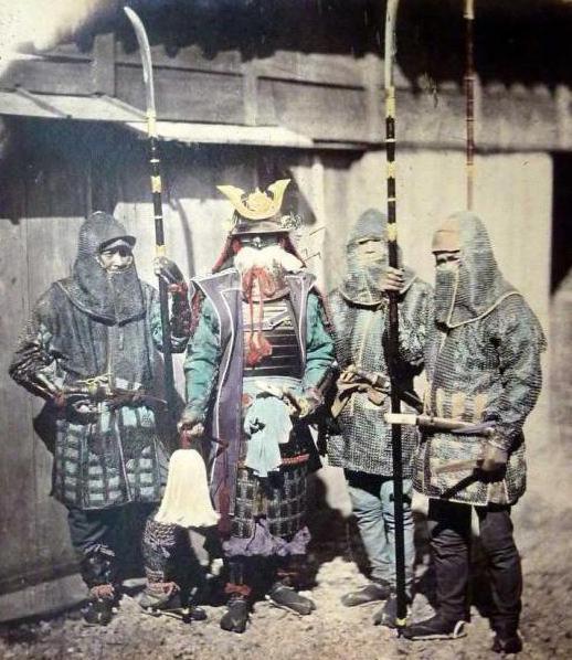 самурайские мечи из японии