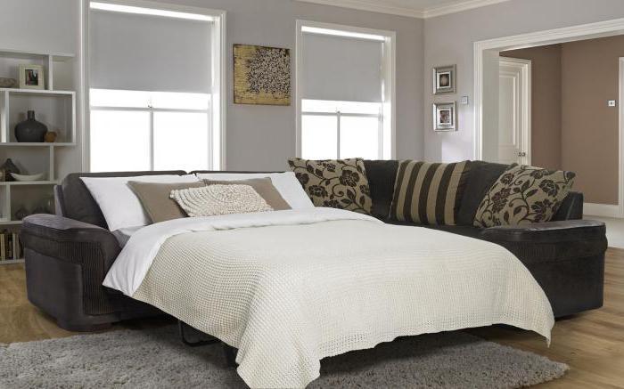 Оптимальный размер углового дивана для гостиной