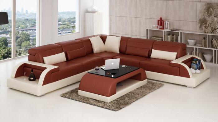 угловой диван небольших размеров