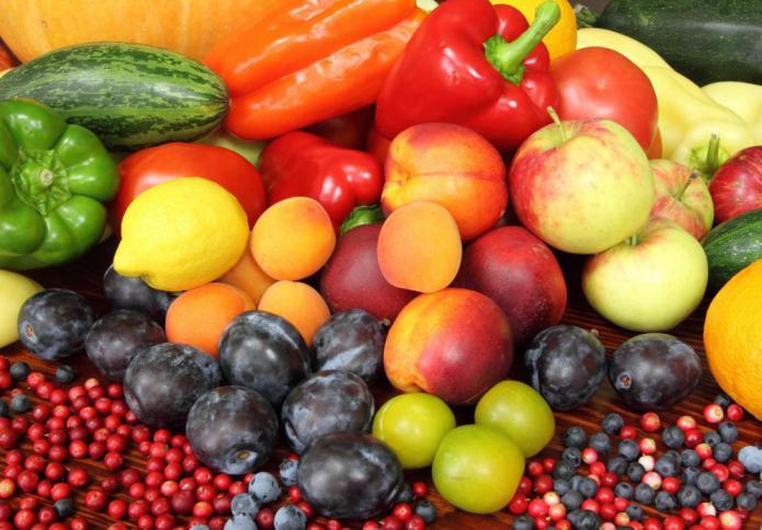 Рутин в продуктах питания таблица